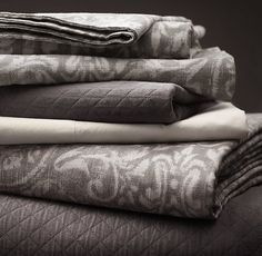 Italian Vintage Baroque Bedding Collection | Bed Linens | Restoration Hardware