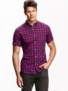 Men's Slim-Fit Classic Shirt | Old Navy