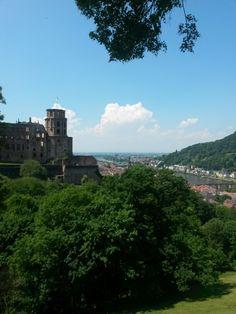 Castle over looking the Neckar