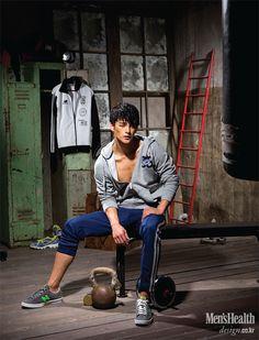 Fierce Friday: Seo In Guk for Men's Health Korea (September 2013 Issue) Korean Star, Korean Men, Asian Men, Asian Guys, Asian Actors, Korean Actors, Korean Dramas, Hyun Seo, Seo In Guk