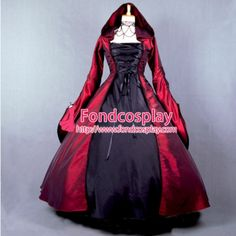 dress sequined on sale at reasonable prices, buy Custom made Elegant ROCOCO Punk gothic victorian style gown prom dresses ball lolita long dress evening dress Gothic costume from mobile site on Aliexpress Now! Renaissance Gown, Medieval Gown, Renaissance Clothing, Gothic Fashion, Victorian Fashion, Steampunk Fashion, Emo Fashion, Ball Dresses, Evening Dresses