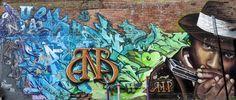 Montreal Graffiti Street Art and Murals Around the City ⋆ Festivals In August, Trash Art, Shops, Farm Art, 3d Street Art, Of Montreal, Canadian Artists, Public Art, Graffiti Art