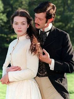 """Justine Waddell and Jason Flemyng (Alec) In """"Tess Of The D'Urbervilles"""" Thomas Hardy Novels, Jason Flemyng, British Period Dramas, Courtly Love, New Iron Man, 18th Century Dress, Top Film, Finishing School, Bbc Tv"""
