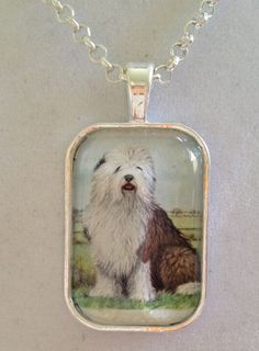 Dog Pendant Necklace by joytoyou41 on Etsy, $25.00