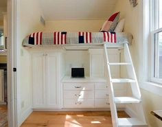 Kids bedroom in small spaces