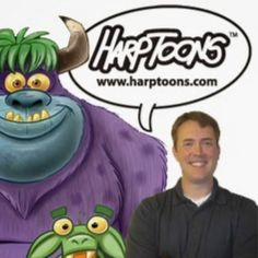 Harptoons is all about getting kids to draw, create, and imagine. Watch my videos and learn to draw with numbers and letters.
