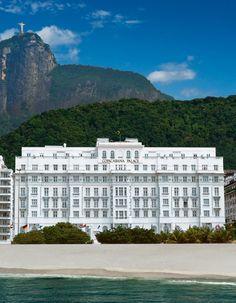 Copacabana Palace Hotel | Rio de Janeiro, Brazil. Memories & best time ever. Thanks J.