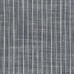 Robert Kaufman House Designer - Railroad Denim - Slub Denim Stripe in Denim