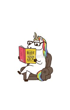 Unicorn Believe in Yourself Magical Fabulous