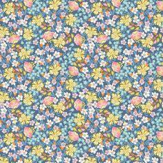 Pretty flower pattern pretty pinterest pretty flowers flower josephine kimberling hope chest flower bed in blue mightylinksfo