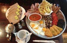 ТТупокайф! Состязание на завтрак в ирландском пабе. Съешь всю еду за 40 минут и не плати ни цента!упокайф!   ВКонтакте