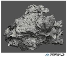Warframe — Coral Sculpt, Jesse Carpenter on ArtStation at https://www.artstation.com/artwork/warframe-coral-sculpt