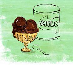 MintysTable Milo Ice Cream - Lauren Monaco