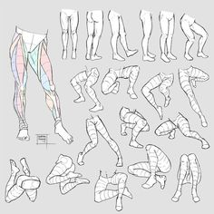 Human Figure Drawing Reference Sketchdump July 2017 [Legs] by DamaiMikaz on DeviantArt - Leg Reference, Body Reference Drawing, Anatomy Reference, Art Reference Poses, Drawing Legs, Body Drawing, Drawing Base, Manga Drawing, Human Anatomy Drawing