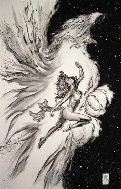The Dark Phoenix Effect by Gene Espy