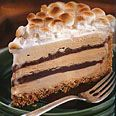 I used the graham cracker crust recipe from this S'mores Coffee and Fudge Ice Cream Cake
