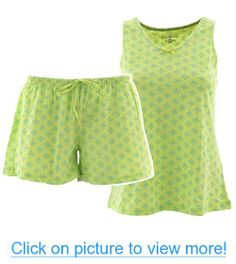 Short Green Pajamas for Women Green Fashion, Pajamas Women, Shades Of Green, Pjs, Rompers, Clothes For Women, My Style, Dresses, Closet