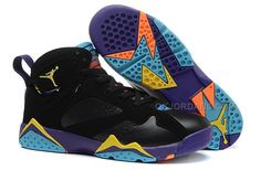 outlet store 9edee 3daad Air Jordan 7 VII Retro GS Lola Bunny Black Bright Citrus Court Purple Light  Womens Shoes