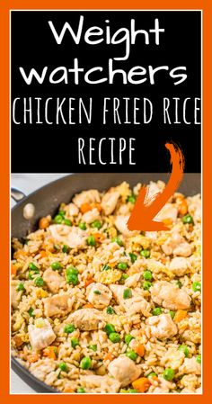 chicken fried rice - Weight watchers recipes