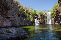 Florence Falls Plunge Pool, Litchfield National Park, NT, Australia