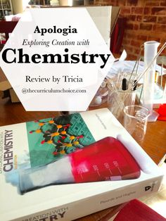 Apologia Exploring Creation with Chemistry Review - with giveaway of a year of science!