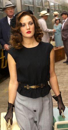 Drew Barrymore as Little Edie in 'Grey Gardens' (2009). Costume Designer: Catherine Marie Thomas//