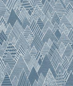 Mountain Pattern by Anita Ivancenko