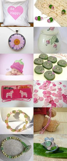 Strawberries and Mint Ice Cream Sundae by Natalie Hickey on Etsy--Pinned with TreasuryPin.com