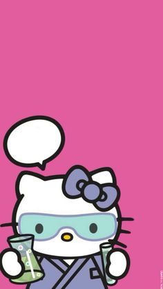 Hello Kitty phone wallpaper scientist - Tap the link now to see all of our cool cat collections!