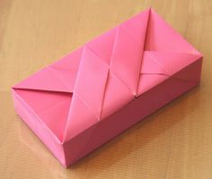 Dobragem criativa: caixa retangular CLEMENTE GIUSTO'S 1