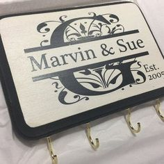 Personalized Love birds Sign/Key Holder in Gold/Silver. Great Gift Idea for Wedding, Engagement Gift. Personalized Wedding Gift for Couples Personalized Love birds Sign/Key Holder in Gold/Silver. Custom Wedding Gifts, Personalized Wedding Gifts, Most Beautiful Love Quotes, Beautiful Birds, Engagement Gifts, Wedding Engagement, Niece And Nephew, Wedding Anniversary Gifts, Couple Gifts