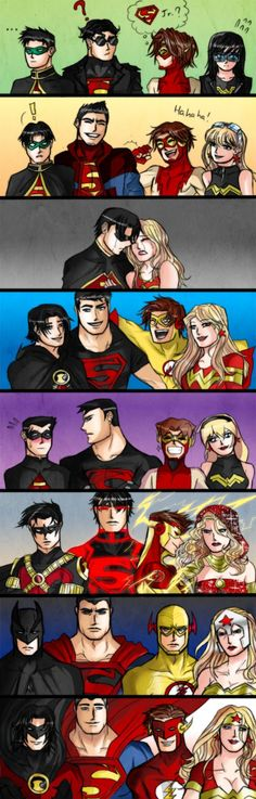Once a Titan, Always a Titan. Young Justice - Redone by callousvixen on deviantART