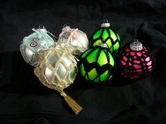 Crochet ornaments I've made