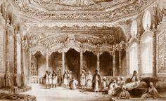 OĞUZ TOPOĞLU : esma sultan sarayı eyüp thomas allom gravürleri