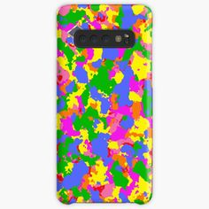 'Rainbow Camouflage design' Case/Skin for Samsung Galaxy by MidnightBrain Canvas Prints, Art Prints, Design Case, Iphone Wallet, Cell Phone Cases, Camouflage, Duvet Covers, Pup, Finding Yourself