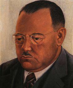Retrato de Marte R. Gómez. FRIDA KAHLO. Cd. de México. (1907-1954). 1944. Óleo sobre masonite. 32.5 x 26.5 cm. - Colección Marte. R. Gómez Leal, Cd. de México.