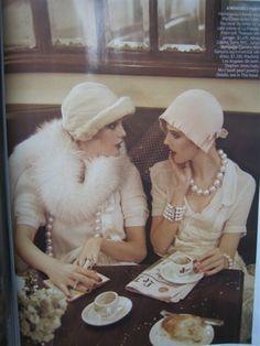 pearl, vintag hat, inspir, friend
