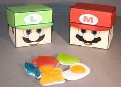 Mario en Luigi doosjes