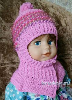 Зимняя шапка - шлем крючком. Работа Александры Карвелис вязание и схемы вязания Knit Crochet, Crochet Hats, Diy And Crafts, Winter Hats, Crochet Patterns, Knitting, Baby, Clothes, Fashion