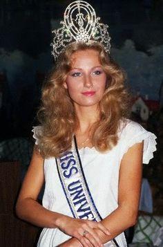 miss universe 1984   sUKA jALAN: Yvonne Ryding - Miss Universe 1984