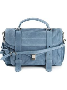 LOVE this denim toned suede proenza schouler ps1