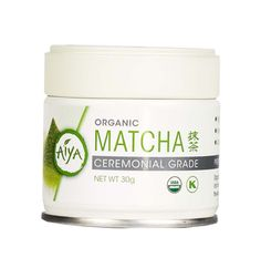 Organic Ceremonial Matcha Green Tea Tin (30g). The USDA organic certified counterpart of our Ceremonial Matcha. Excellent for everyday drinking.