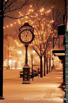 Downtown Traverse City in Michigan