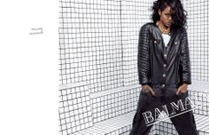 Rihanna for Balmain. Styled by Mel Ottenberg. #BalmainSS14