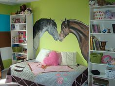 Mural Horse lovers Room! by Paint A Lifestyle, via Flickr