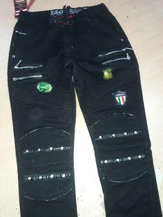 Boys Jeans, Parachute Pants, Design, Fashion, Embroidery Designs, Moda, Fashion Styles, Fashion Illustrations