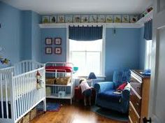 shlef along ceiling in kids room - Google Search