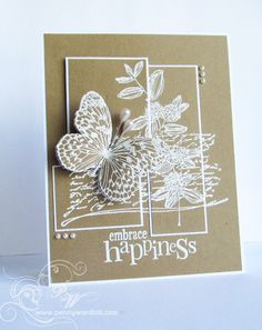 Embrace Happiness by Penny Ward - Cards and Paper Crafts at Splitcoaststampers
