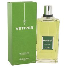 47a95ddae VETIVER GUERLAIN by Guerlain Eau De Toilette Spray 6.8 oz -  generationsstore Hermes Perfume, Best