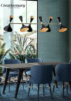 Helsinki II Suspension Lamp celebrates futuristic projects seen in the World's Design District, with bold curved lines from the standout projects. Tropical Style, Tropical Decor, Helsinki, Interior Decorating, Interior Design, Dining Room Lighting, Modern Chandelier, Decoration, Design Trends